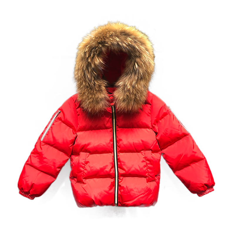 цена на New 2018 Kids Down Jacket Fashion Warm Down Coat Baby Girl Boy Parkas Winter Toddler Boys Warm Jacket Children Clothes
