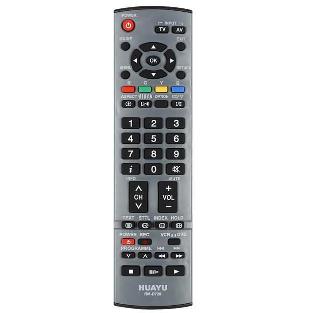 Mando a distancia RM D720, adecuado para panasonic, LCD, LED, HDTV, 3DTV, EUR7651120/71110/7628003, N2QAYB000239, N2QAYB000238, huayu