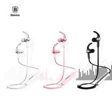 Baseus b11 v4.1 imán bluetooth deportes auricular bluetooth inalámbrico auriculares estéreo de auriculares con micrófono para iphone xiaomi