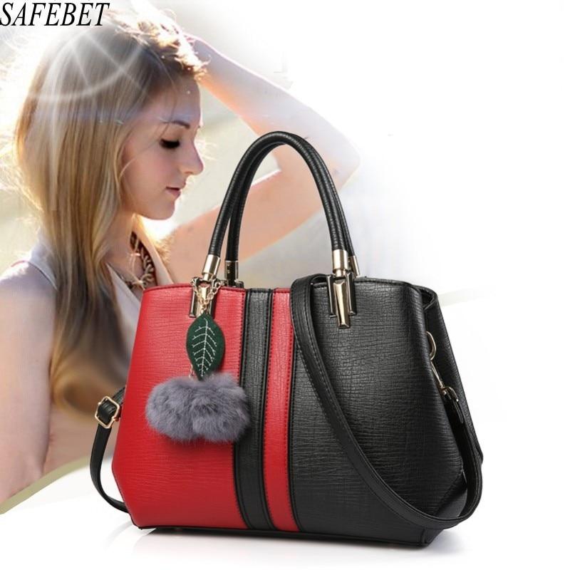 SAFEBET Merk 2017 Fashion Travel Designer Luxe Dames Handtas Hoge kwaliteit PU leer Dames Trendy Schouder Messenger Bags