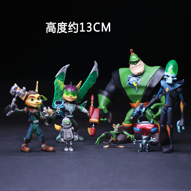 2017 Game Ratchet & Clank 13cm Boxed Action Figure Toys