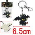 How To Train Your Dragon Toothless Figure Keychain Pendant Key Chain Cartoon Movie Accessories Keyring Christmas Gift