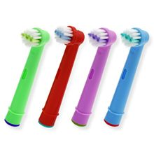 20pcs Replacement Kids Children Tooth Brush Heads For Oral B EB-10A Pro-Health Stages Electric Toothbrush Oral Care, 3D Excel