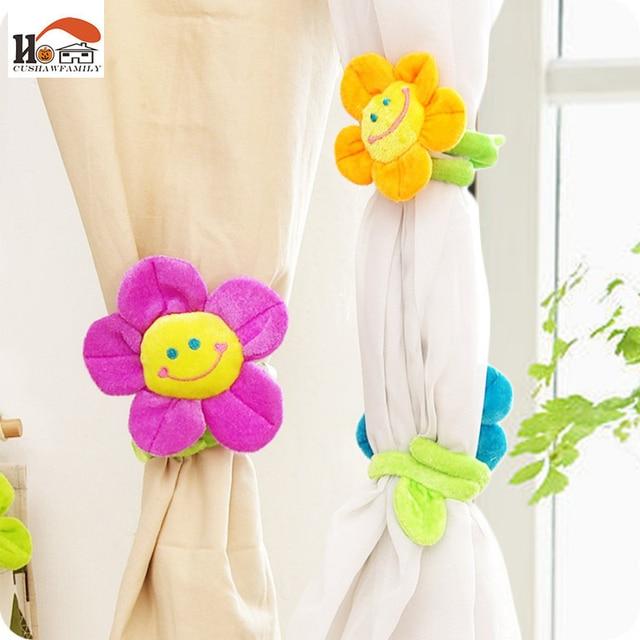 Cushawfamily 2 Stucke 33 Cm Lange Sonnenblume Vorhang Schnalle Haken