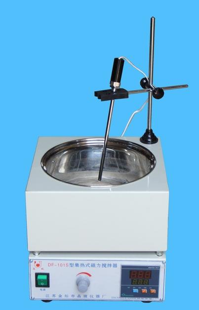 DF-101S Collect -Heat Type Magnetic Heating Stirrer Plate Digital Temperature Control For Oil High Temperature Heating! taie thermostat fy800 temperature control table fy800 201000