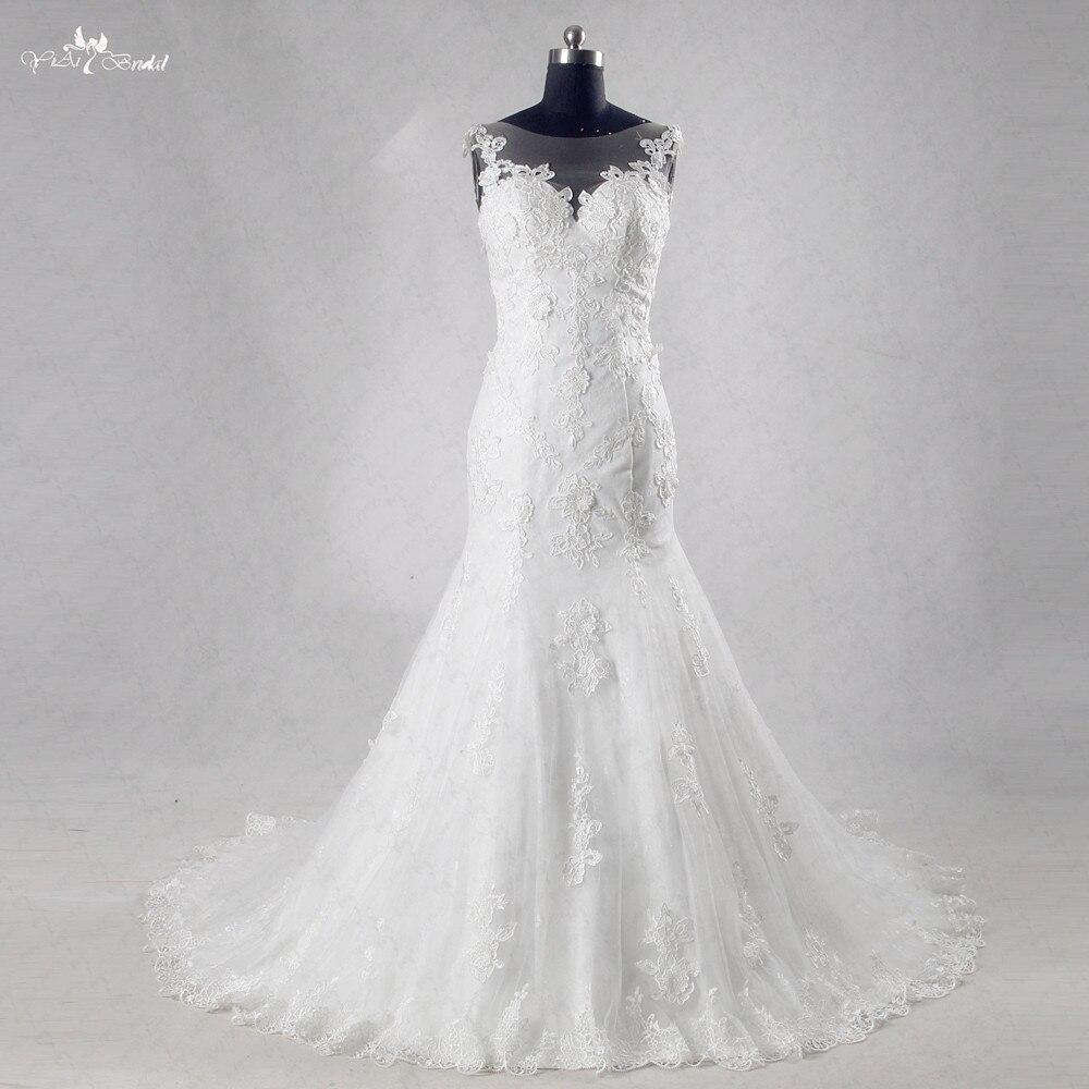 c8d00fc9a ᗑRsw995 Encaje sirena Vestido de Noiva abito da sposa - a986