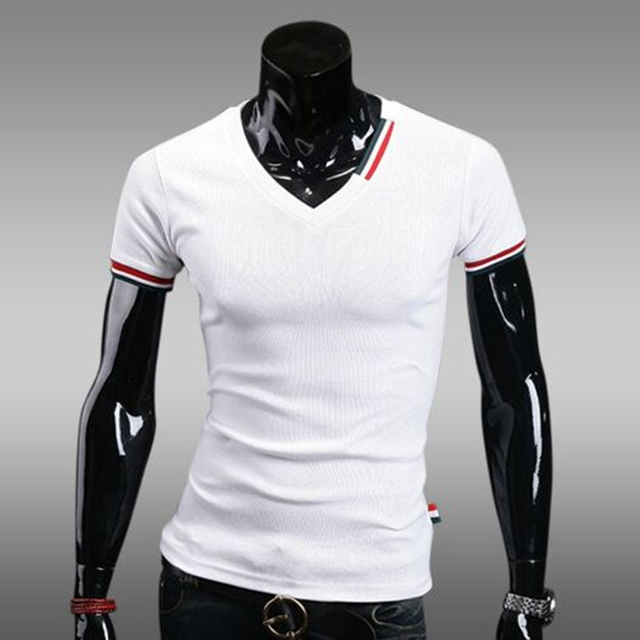 O envio gratuito de marca dos homens do polo de algodão Mens Polo Camisa Masculina Manga curta impresso Magro Sólida Impressão Polos camisas Dos Homens de moda