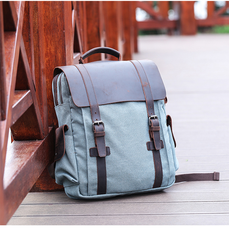 picture of the canvas backpack from eiken
