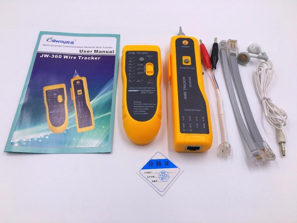 кабельный тестер линии tracker