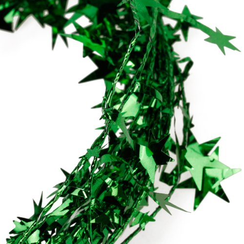 Online buy wholesale green tinsel garland from china