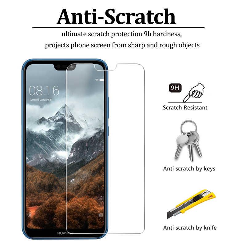 Protección de vidrio para Huawei p8 lite de vidrio templado Protector de pantalla para Huawei p20 lite p9 p10 plus mini p smart película protectora