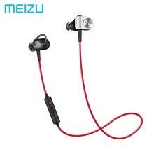Big sale Meizu EP51 EP52 Wireless Sports Bluetooth4 In-Ear Headphone support aptX Noise Cancelling MIC Aluminium Alloy shell TPE Line