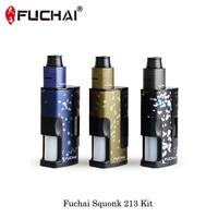Electronic Cigarettes 213W Original Fuchai Squonk 213 RDA Coil Kit Squonker Box Mod 510 Threading 2018 Vape Vaporizer VS justfog