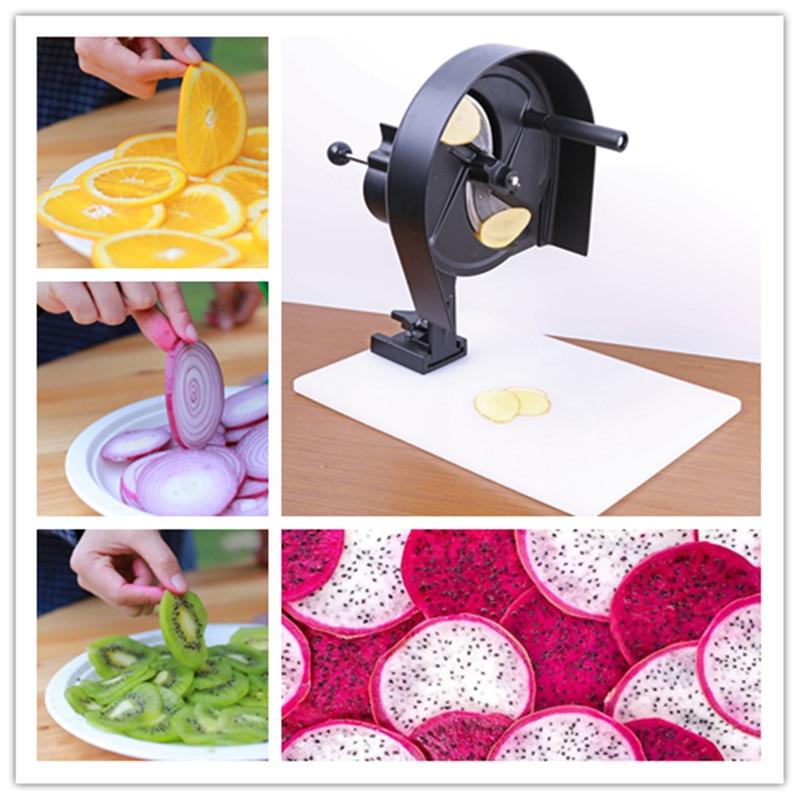 Kiwi slicing machine multifunctional grapefruit slice cutting tool fruit tea slicer commercial lemon slicer machine professional fruit slicer machine electric orange slicer automatic fruit cutting machine 220v1pc