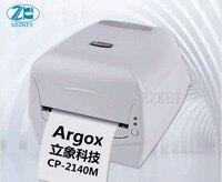Impressora térmica adesiva CP-2140 da transferência da impressora térmica da etiqueta  impressora térmica cp2140 do código de barras da transferência da superfície-etiqueta