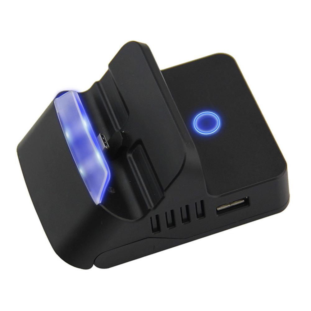 Commutateur Portable remplaçable hôte commutateur Bluetooth Base de charge adaptateur TV HDMI multi-angle réglable avec entrée d'alimentation USB