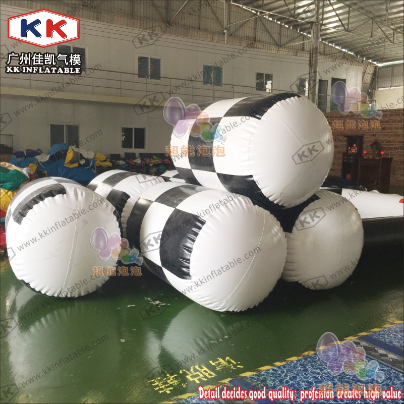 Inflatable Tube Water Bouy for Water Park Games Water Floating Buoy 2017 new hot sale inflatable water slide for children business rental and water park