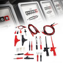 цена на 4mm Banana Plug Multi Meter Test Lead Probe Cable Set Electronic Multimeter Test Lead Kit P1600D Test Lead Probe Set