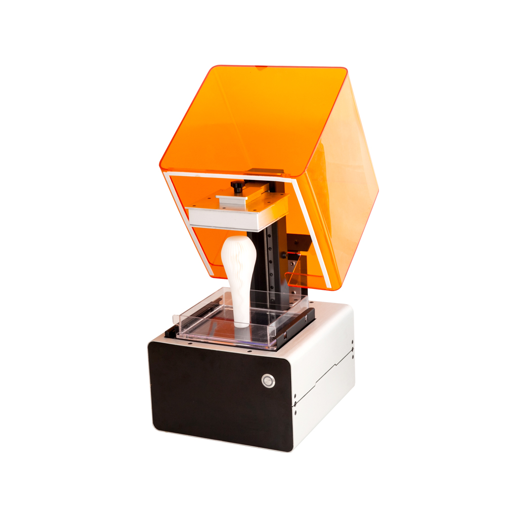 Free shipping SLA 3D Printer Light Curing Resin Printer Laser Printer Super compatible easy to use 100% brand new flsun 3d printer big pulley kossel 3d printer with one roll filament sd card fast shipping