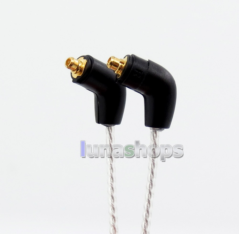 LN005730 2 5mm TRRS 6n OCC Silver Plated Earphone Cable For Etymotic ER4 XR SR ER4SR