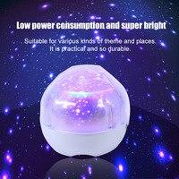 Gwiazda Sky Flash USB Inteligentny Trzy Ściemnianie Magiczna Lampa Projekcyjna Jasne Kid Bedsides Oświetlenie Led Projektor Światła Dekoracji