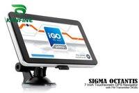 7 Inch Win CE 6.0 Car GPS Navigation Radio 8GB 256M Truck Vehicle GPS Navigators Lorry Rear View Camera Screen Free Map Upgrade