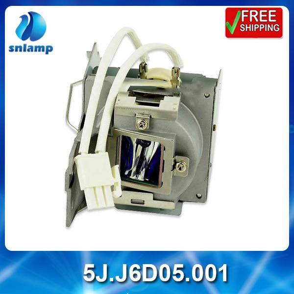 Compatible replacement projector lamp bulb 5J.J6D05.001 for MS502 MX503 awo sp lamp 016 replacement projector lamp compatible module for infocus lp850 lp860 ask c450 c460 proxima dp8500x