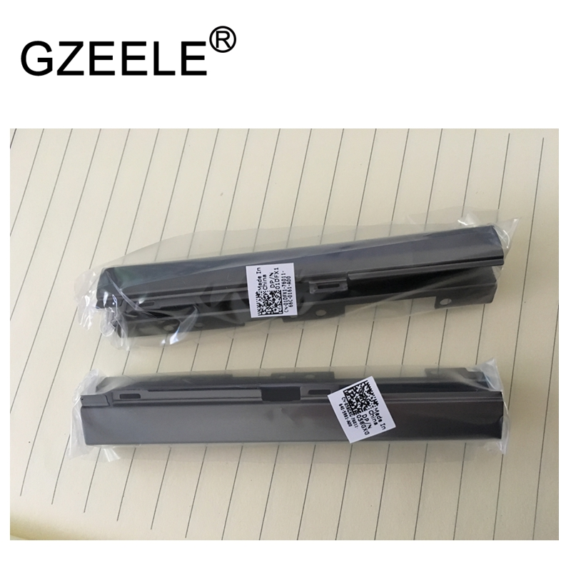 GZEELE new for DELL Precision 17 7710 7720 M7710 M7720 HINGES HINGE COVER gzeele new for dell precision 17 7710 7720 m7710 m7720 top cover a case switchable lcd back cover n4fg4 0n4fg4 lcd rear lid case