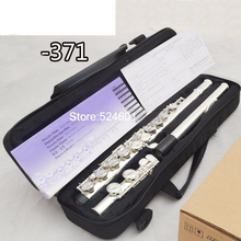 Флейта из купроникеля 16 отверстие C Ключ высокое качество Professional Аутентичные флейта-371 Instrumento musicais, окарина, flauta