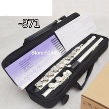 Cupronickel Flute 16 hole C Key High Quality Professional authentic Flute -371 instrumentos musicais,ocarina,flauta