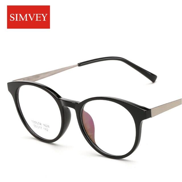 Simvey Retro Round Eyeglass Frames Men Fashion Vintage Optical ...