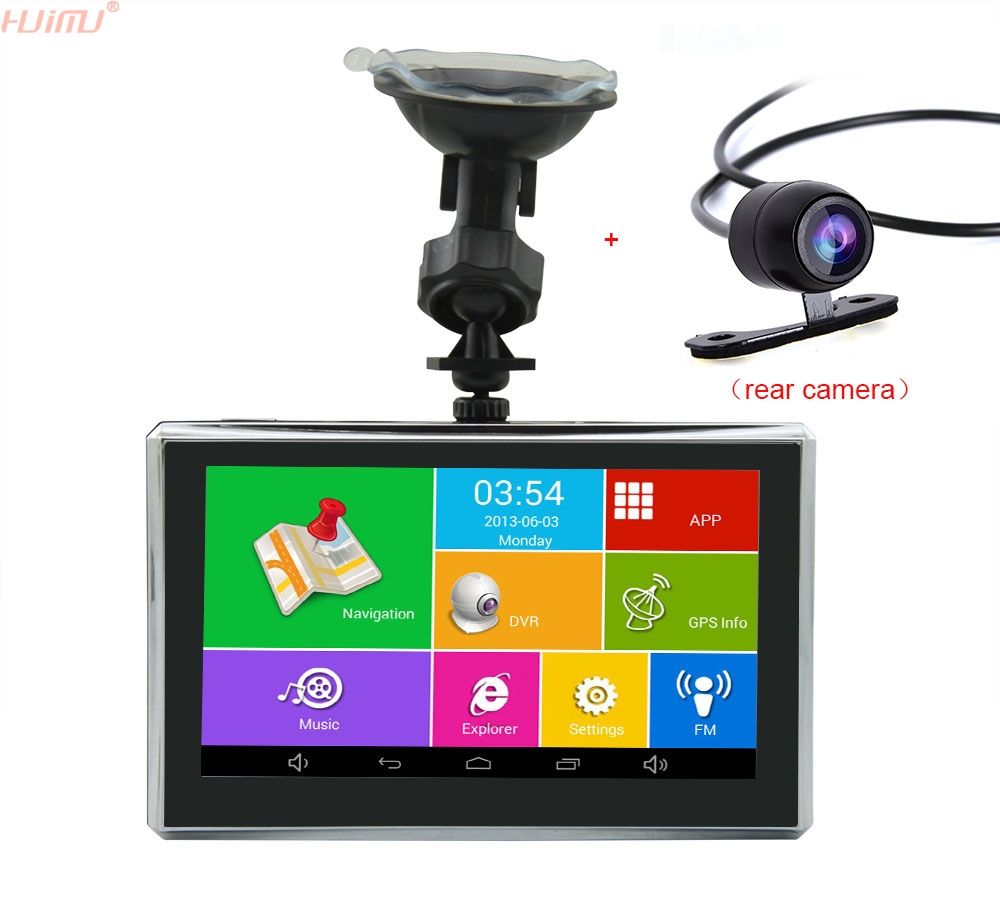 5 Wifi Android 4 Car DVR GPS Navigation Parking Dash cam Tablet PC Bluetooth Video recorder Rear Camera Camcorder car mp5 player bluetooth hd 2 din 7 inch touch screen with gps navigation rear view camera auto fm radio autoradio ios