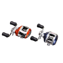 12+1BB Ball Bearings Left/right Handle Bait Casting Carp Fishing Reel High Speed Baitcasting water drop wheel Rotate the spool