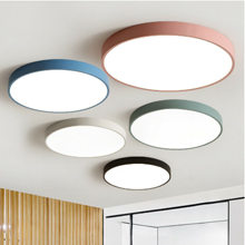 220x220-Ceiling Light LED ultrathin panel lamp colorful kids light lighting