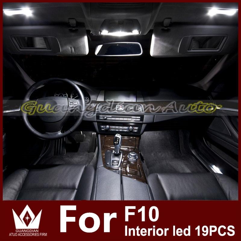 Tcart 19pcs Auto Led Bulbs Car light LED Interior Light Kit Roof ...