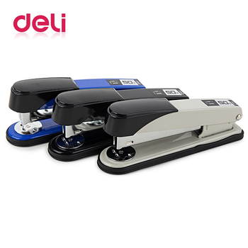 Deli 1pcs thickened stapler can be ordered 50 page Heavy-Duty Stapler for 24/6 or 24/8 staples Office Efficient Useful stapler