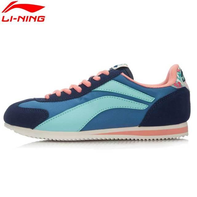 Li-Ning Women's 3KM Light Leisure Skateboarding Shoes Classical Sport Shoes ALCL012 YXB043