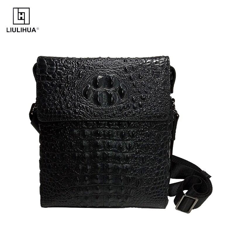 New Genuine Cow Leather Small Bussiness Bag Mens Handbag Shoulder Bags Messenger Bag Cross body Bag Pack For Travel