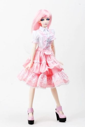 [wamami] 299# Pink Clothes Dress/Suit SD 1/3 BJD Dollfie 699 pink chinese classical long dress suit for 1 3 sd bjd dollfie