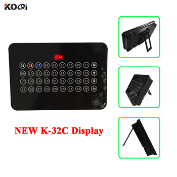 Model Wireless Display Host Receiver Touch Screen Pager Call Waiter For Restaurant Show 32 Groups Calling Number K-32C