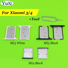 YuXi 2pcs/lot For Xiaomi 3 mi3 4 mi4 SIM Card Tray Holder Sl