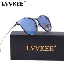 LVVKEE Marca moda kim kardashian de la mujer gafas de sol de marco de metal grano De Madera Gafas de Sol oculos feminino CD Femenino gafas de Sol
