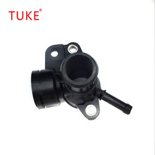 TUKE 06J 121 132F Water Pipe connection head Fit VW Tiguan Passat B7 CC Golf MK6 Octavia Superb ALU Cooling Hose Flange(China)