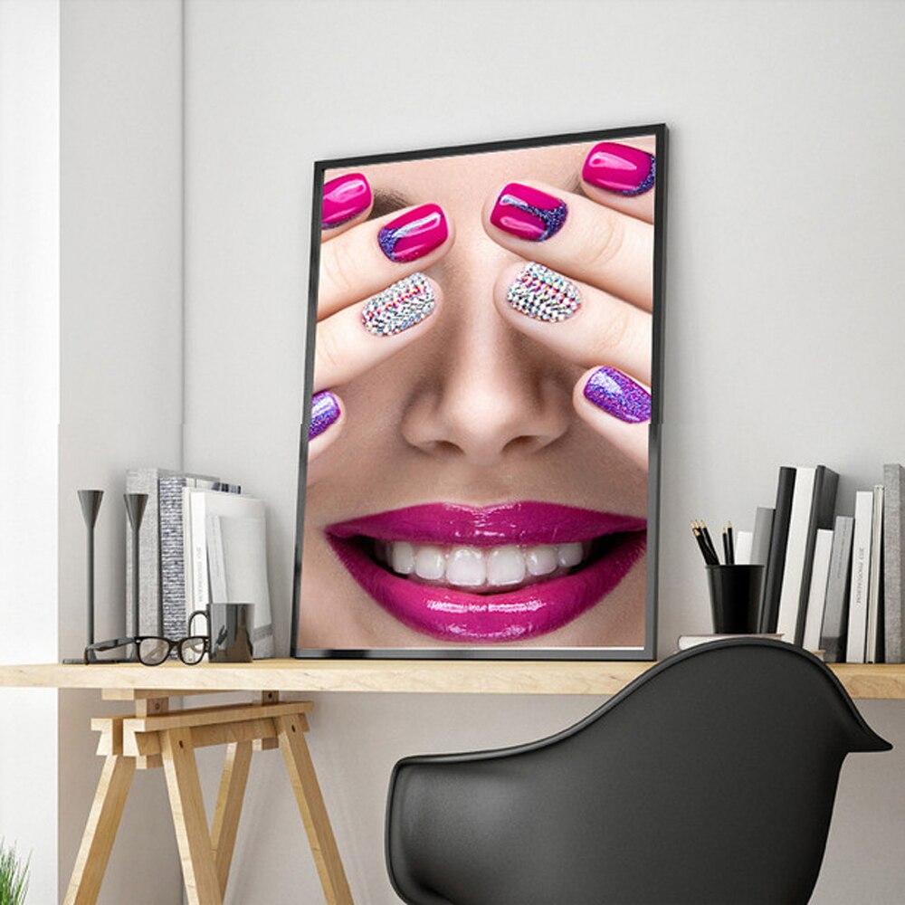 xdr moda lienzo arte de la pared pintura posters and prints arte imagen de la chica de moda de pared posters