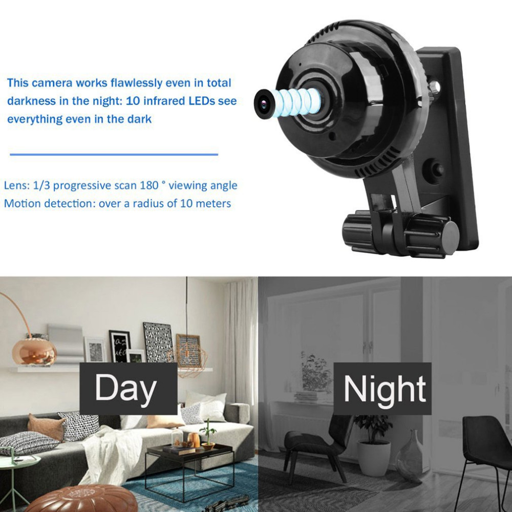 720P WiFi IP Camera IR Night Vision Two-way Audio Wide Angle Smart Home Security Cam Support Motion Detection Newest 720p wifi ip camera ir night vision two way audio wide angle smart home security cam support motion detection