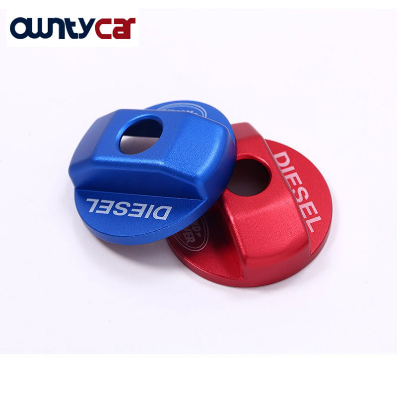 Red Blue Fuel Tank Cap Trim Stickers For Land Rover Defender 110 For Landrover Defender 90 2016 Auto Car Accessories and Parts land rover defender 1998 г