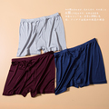 High-end men's pants Men's silk underwear 100% silk knitted shorts mulberry silk