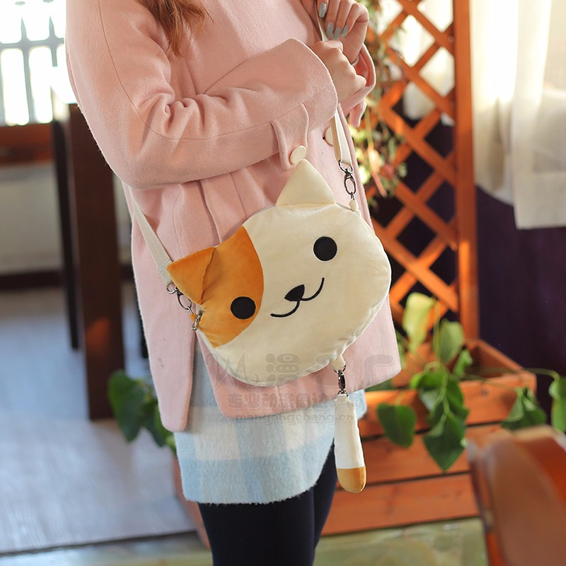 neko atsume Game Cute Cat Plush Toys Doll Cosplay Japanese Anime Rare bag-in  Movies   TV from Toys   Hobbies on Aliexpress.com  b87bb8d6ef59d