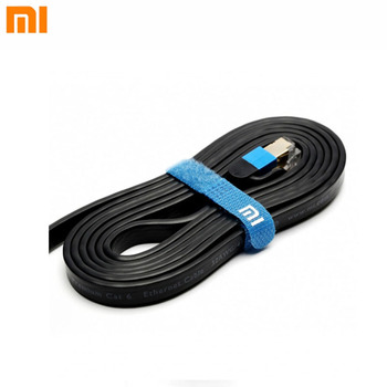 Xiaomi 0.5m 1.5m 3m LAN Cable 1000MbpsGigabit Six Patch Networking Cable 24K Gold Plated Crystal Head Kilomega Router Connection networking cables