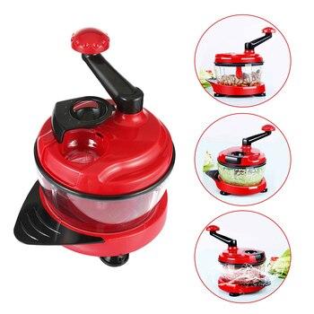 Multi Manual Food Processor Cutting Machine Vegetable Household Meat Grinder Chopper Cutter Mandoline Mixer Slicer Kitchen Tool